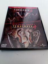"""DVD """"TEMBLORES 3 REGRESO A PERFECTION / TEMBLORES 4 COMIENZA LA LEYENDA"""" 2DVD"""