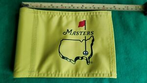 Masters pin flag 8 1/2 X 6 inches good quality