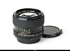 Lens Canon FD 1.2/50mm