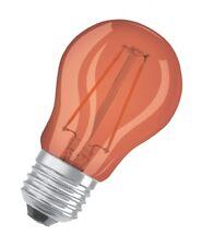OSRAM LED STAR P Decor 2W E27 Lichtfarbe: Orange