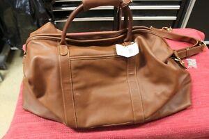 Coach Leather Cabin Duffle Bag (Large) Tan 503L