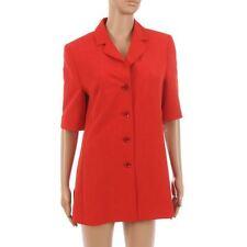 Jacket Red Short Sleeved Blazer Size 36 / UK 10 LJ 480