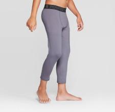 Boys Grey Compression Pants - C9 by Champion - S M L XL #ME50
