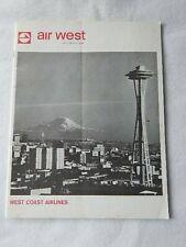 Original Air West Magazine-September 1966