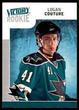 2009-10 Upper Deck Victory Rookie Logan Couture Rookie #329