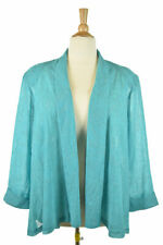 Another Thyme Women Tops Blouses 26 Teal Polyester