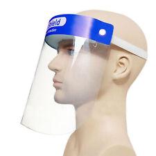 Dental Full Face Shield Mask Clear Protective Film Flip Up Visor Safety Cover