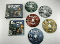 Far Cry 1 Ubisoft PC Game CD ROM Game Set (2004, 5 Disc) Complete w/ Manual