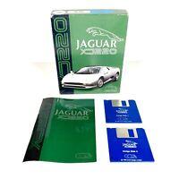 Jaguar XJ220 Amiga Game Motor Racing Cars Core Design Complete Boxed Gaming
