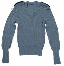 CANADIAN ARMY WOOL SWEATER - AIR FORCE BLUE - MEDIUM - 900PZ