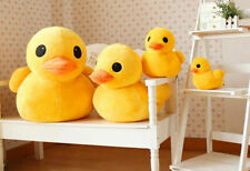 12 Inch Yellow Rubber Duck Plush Toy Stuffed Animal Cushion Soft Pillow Doll AU