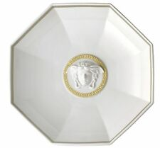 Versace Gorgona White Footed Bowl Round 29cm