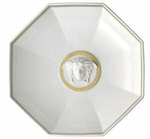Rosenthal Meets Versace Gorgona White Footed Bowl Round 29cm