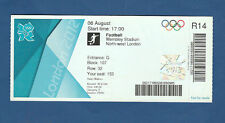 Orig. Ticket Olympic Games London 2012 France-Japan 1/2 Finale! Top