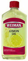 Weiman 18A Lemon Oil Furniture Polish with Sunscreen UVX-15, 16 Oz