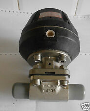 GEMU VALVE WITH PNEUMATIC ACTUATOR  EPDM 1.4435 316L