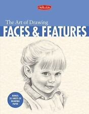 Walter Fosters The Art of Drawing Faces and Features By Debra Yaun Book
