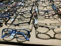 Wholesale Lot of Designer Eyeglasses Frames (non-prescription) 125 pcs box