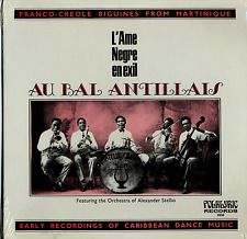 Au Bal Antillais SEALED Folklyric 9050 LP Franco-Creole Biguines From Martinique