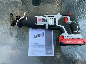 Porter Cable 20V Max Reciprocating Saw with 2.0Ah Battery