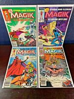 1st Solo Comic MAGIK 1 2 3 4 Complete First 1983 Series 1-4 NEWSSTAND UPC Lot