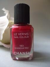 183 SHANGHAI RED Brightest Cherry RARE 2005 CHANEL nail varnish new ! NO CAP !