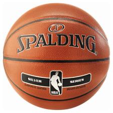 Spalding NBA silver Ballon de Basket Mixte adulte Orange 7