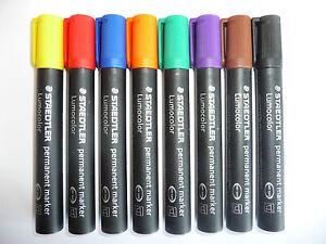 Staedtler Lumocolor Permanent Markers Pen in Singles - Bullet 352 Chisel Tip 350