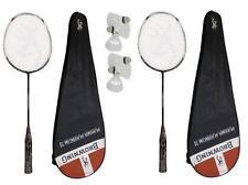2 x Browning Plasma Platinum 70 Badminton Rackets + 6 Carlton Shuttles RRP £620
