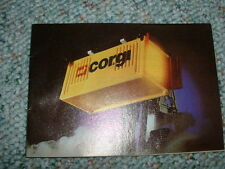 Corgi 1981  Catalog Catalogue