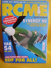 "RCM&E MAY 2007 POGOSTICK SPORTSTER PLAN 54"" SPAN CHRIS REID YAK 54 SYNERGY N9"