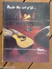 retro magazine advert 1983 IBANEZ guitars
