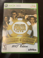 World Series of Poker: Tournament of Champions - Xbox 360 - Complete & Tested