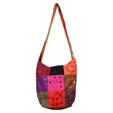 Traditional Indian Women's Handbag Tukdi Mirror Work Jhola Handbag For Girls
