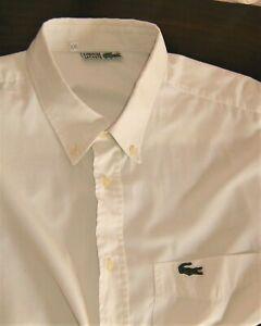 Vintage Mens Lacoste Shirt Size 2XL/48