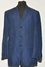 """DUCA VISCONTI Mid Blue Linen Blazer 40 """"R"""