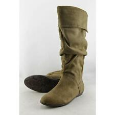 Flat (0 to 1/2 in.) Nine West Synthetic Boots for Women
