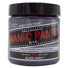Manic Panic Vegan Semi Permanent Hair Color Cream 118 mL Alien Grey