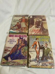4 Grace Livingston Hill Books 1936 Substitute Guest 1940 Rose Galbraith Head