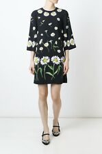 New With Tag Authentic Dolce Gabbana Daisy Shift Dress IT 36 $2650