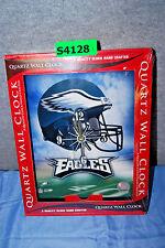 "Philadelphia Eagles NFL (10"" x 12"") Quartz Wall Clock (NIP)  (S4128)"