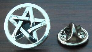 Wicca Star Wiccan Pin Badge Pentacle Pentagram Wiccans Pagan