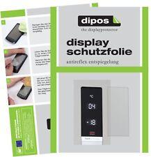 2x Bosch KGN39XI45 Serie 6 Schutzfolie matt Displayschutzfolie Folie Display