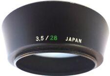 Olympus Metal Lens Hood for OM 28mm F3.5 Lens.