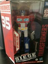 35th ANNIV. TRANSFORMERS SIEGE WAR for CYBERTRON -- OPTIMUS PRIME ACTION FIGURE