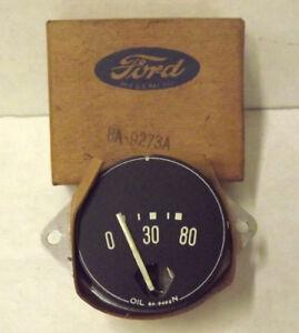 1949-1950 Ford NOS Oil Gauge-Part #8A-9273-A