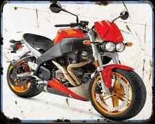 Buell Xb12S Lightning 04 A4 Metal Sign Motorbike Vintage Aged