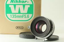 🔹Almost MINT in Box🔹 Nikon NIKKOR W 135mm f/5.6 Large Format Lens Copal Japan
