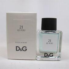 21 LE FOU Pour Homme by Dolce & Gabbana 50 ml/ 1.6 oz Eau de Toilette Spray