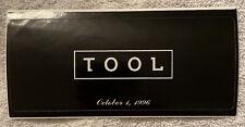 Rare Tool Band Promo Sticker With Original Release Date Ænima 1996